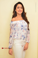 Actress Pragya Jaiswal Latest Pos in White Denim Jeans at Nakshatram Movie Teaser Launch  0013.JPG