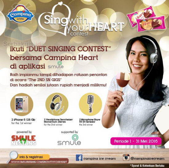 Sing With your Heart Contest