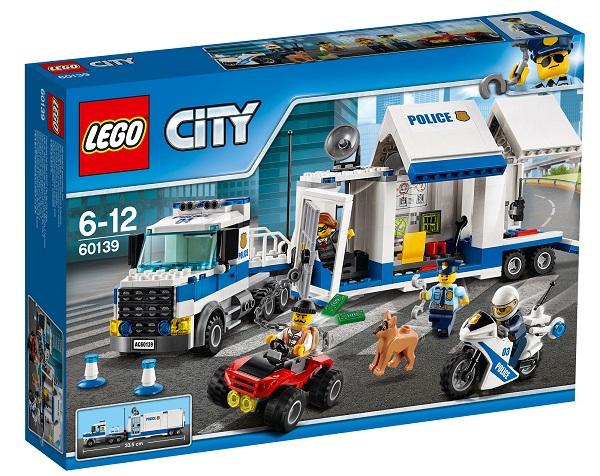LEGO® City Police MOBILE COMMAND CENTER