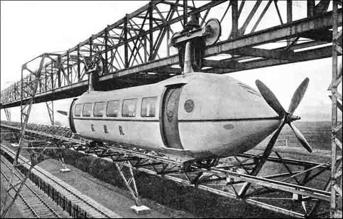 Kereta Gantung dengan Baling-Baling