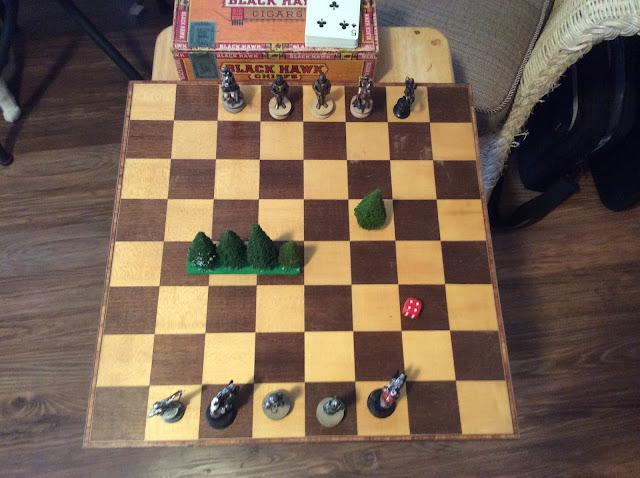 chess board top