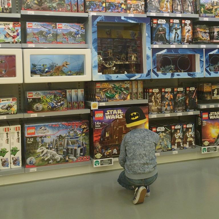 Mmi, Mittwochs mag ich, Mutterliebe, Lego Store Shop Köln, Star Wars Lego, Ninjago, Batman