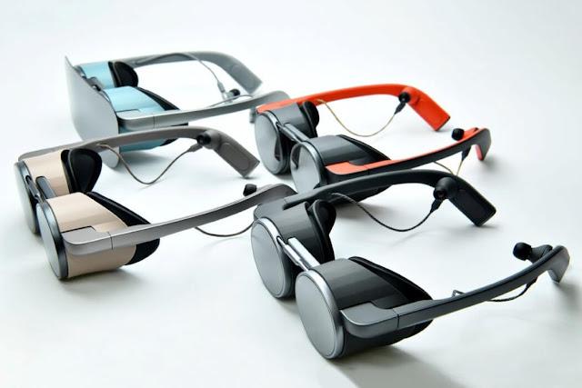 Panasonic Stylish VR Glasses Support HDR