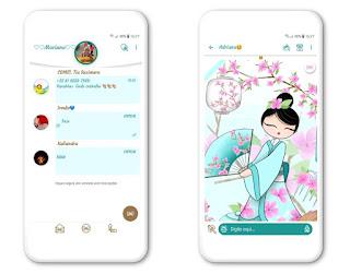 Lady Girls Theme For YOWhatsApp & Fouad WhatsApp By Mary Silva