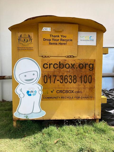 Recycle Baju Terpakai di KSL