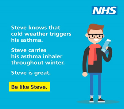 Winter asthma carry your inhaler
