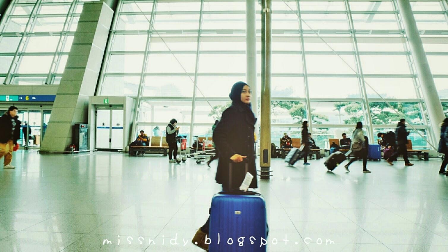 pengalaman di bandara incheon