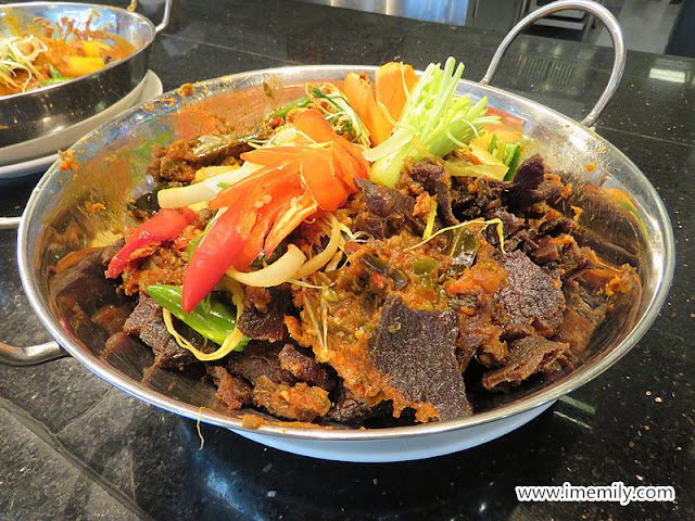daging dendeng Buffet Ramadhan 2018 Bangi