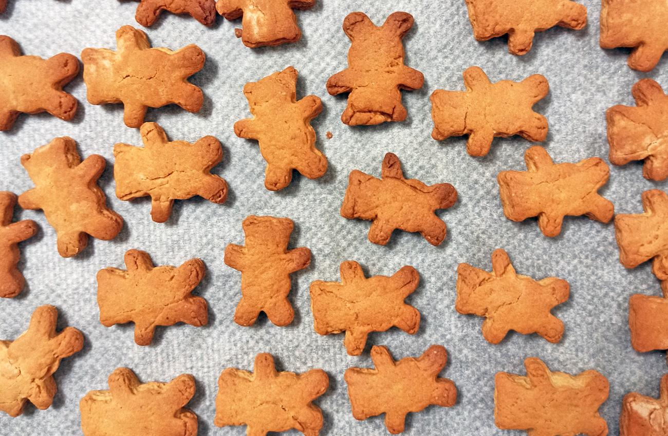 receta galletas jengibre canela