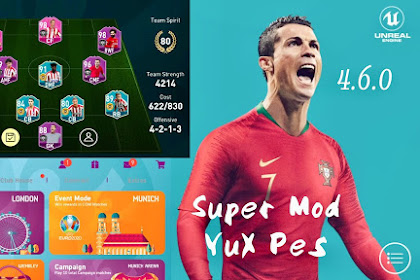 PATCH PES 2020 MOBILE EURO 2020 BY YUX PATCH V4.6.0