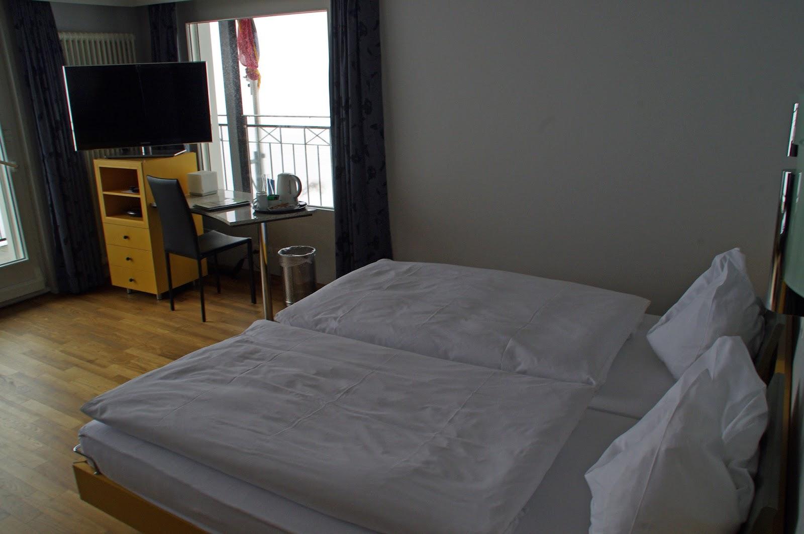 Hotel Belvedere Grindelwald Bed