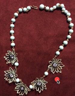 Kramer Rhinestone Necklace in Vintage Jewelry Fix