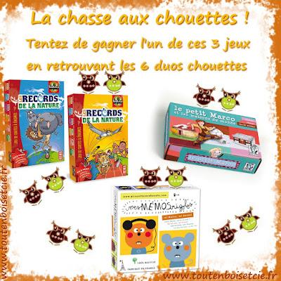 Partez à la chasse aux chouettes sur www.toutenboisetcie.fr