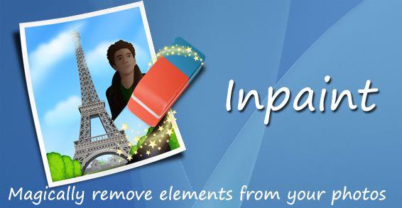 قم بإزالة أشخاص / عناصر / تجاعيد البشرة / العلامات المائية من إي صورة بسهولة مع برنامج inpaint