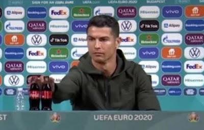 Saham Coca Cola Anjlok Apakah Ulah Ronaldo