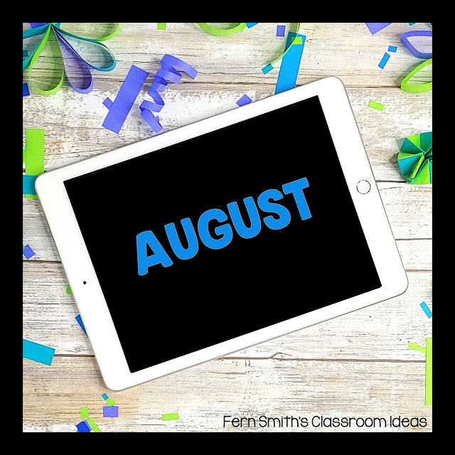 August FREE Teacher Downloads For Your Classroom! FREEBIES and Back to School August FREEBIES are collected here for easy classroom references. Let me make your August and Back to School time easier with these worksheets, color by number pages, coloring pages, classroom games, lesson plans, center games, task cards, activities, color by code pages, and so much more! The day to day teaching you do is HARD, let me help. Pin this page to remember to come back each August for more Free downloads! #FernSmithsClassroomIdeas