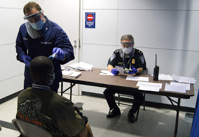 First of Dallas County's two portable testing locales is going; second opens Sunday