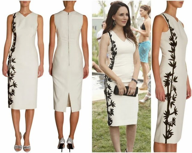 Madeleine Stowe in L'Wren Scott Dress- Seen On 'Revenge'