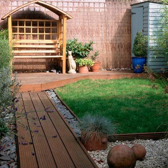 Simple Small Garden Design Ideas: COISARANDO POR AI..: JARDINS ACONCHEGANTES