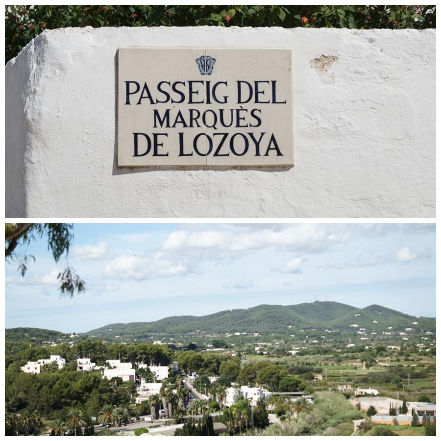 Blog + Fotografie by it's me! - Reisen - La Isla Blanca Ibiza, Santa Eurlaria - Passeig del Marques de Lozoya und ein Blick über Santa Eularia