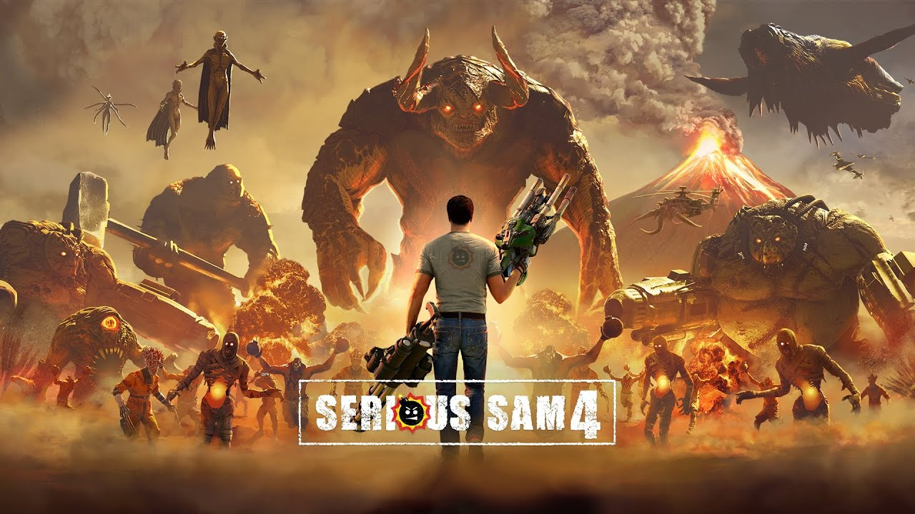 SERIOUS SAM 4 STORY TRAILER PROMISES AN EPIC ADVENTURE