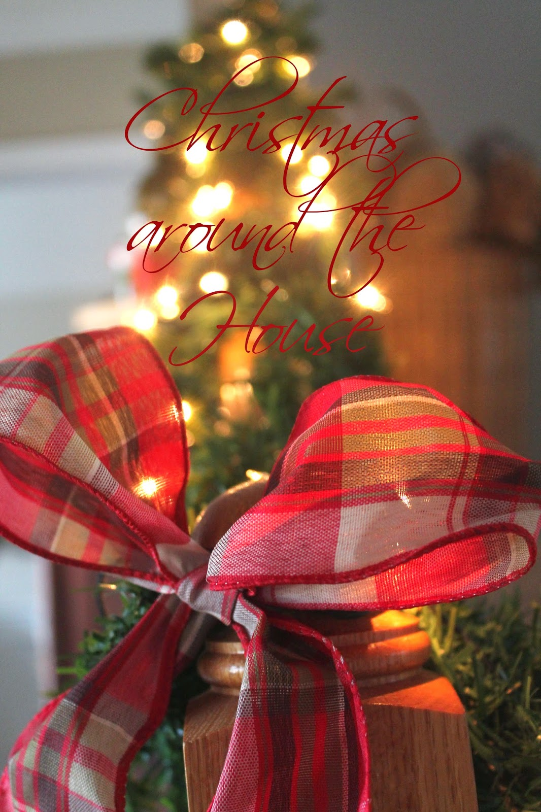 beautiful christmas home decor, the altered past blog