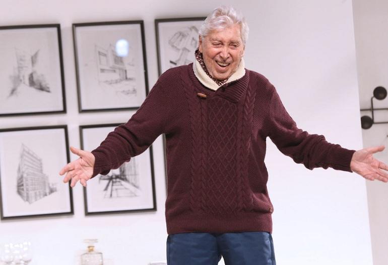 Falleció a los 88 años el actor de teatro Osvaldo Cattone