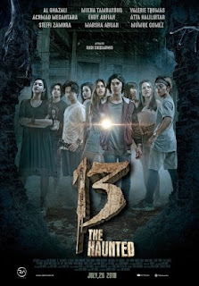 13 THE HAUNTED 2018