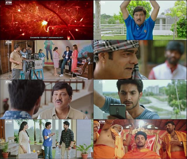 Burra katha 2019 Hindi Dubbed 720p WEBRip