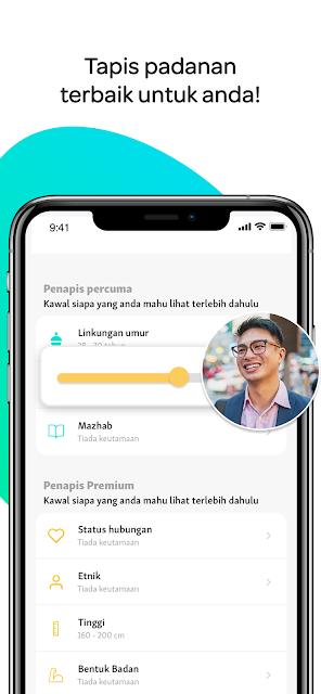 Aplikasi cari jodoh untuk membantu lelaki dan wanita Muslim membina hidup berkeluarga telah tiba di Malaysia!
