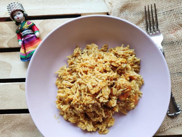 Arròs al curry fàcil