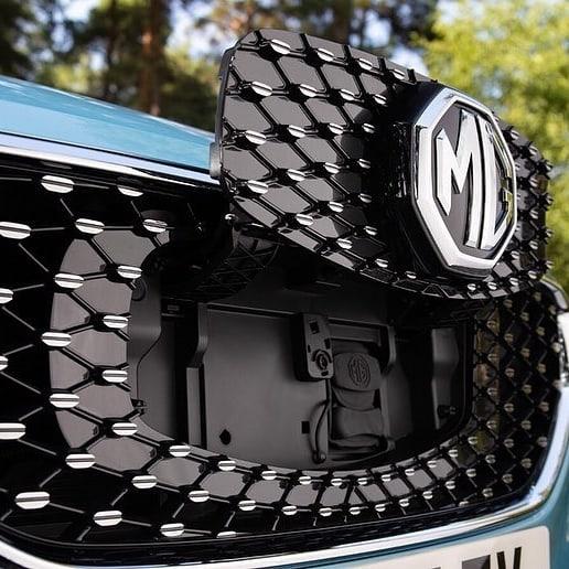 MG ZS EV exterior