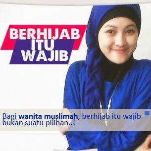 Gambar DP BBM Jilbab/ Hijab itu wajib
