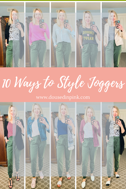 10 ways to style joggers
