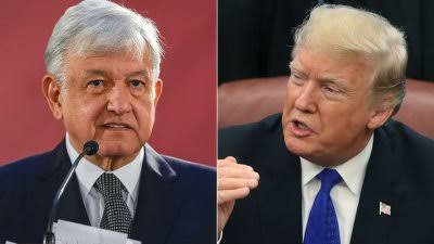 Mexico's president Lopez Obrador rejects Donald Trump's offer to send the U.S. Army to wage war on Mexican drug cartels