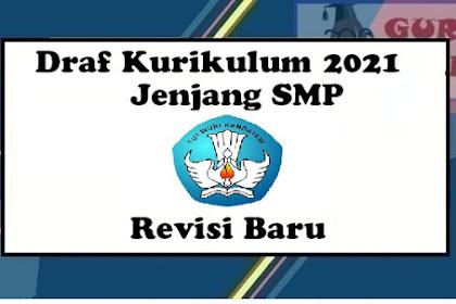 Draft Kurikulum 2021 Jenjang SMP