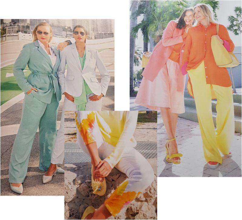 Sommermode in tollen Farben für alle Frauen