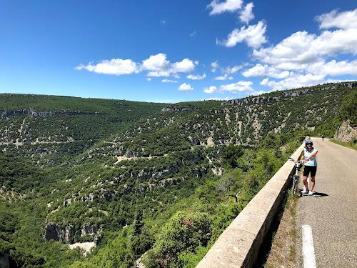 French Village Diaries cycling les Gorges de la Nesque Provence