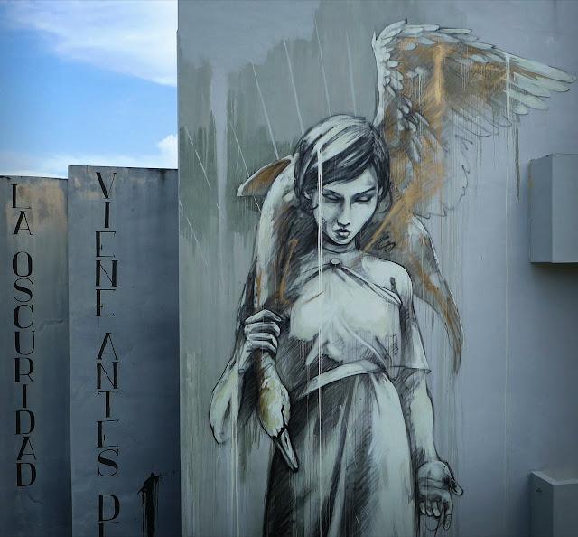 """Marauders"" New Street Art Mural By Faith47 For Los Muros Hablan '13 In Puerto Rico. 5"