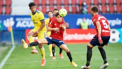 ملخص واهداف مباراة قادش واوساسونا (2-3) الدوري الاسباني