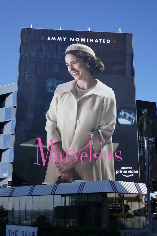 Marvelous Mrs Maisel season 2 Emmy nominated billboard