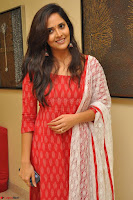 Anasuya Bharadwaj in Red at Kalamandir Foundation 7th anniversary Celebrations ~  Actress Galleries 010.JPG