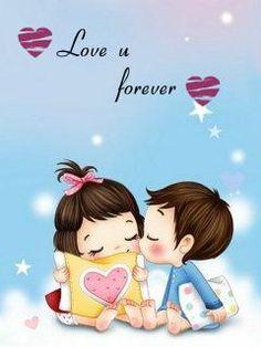 97 Love Images In Cartoon Love Whatsapp Dp Ê– Hd Wallpapers