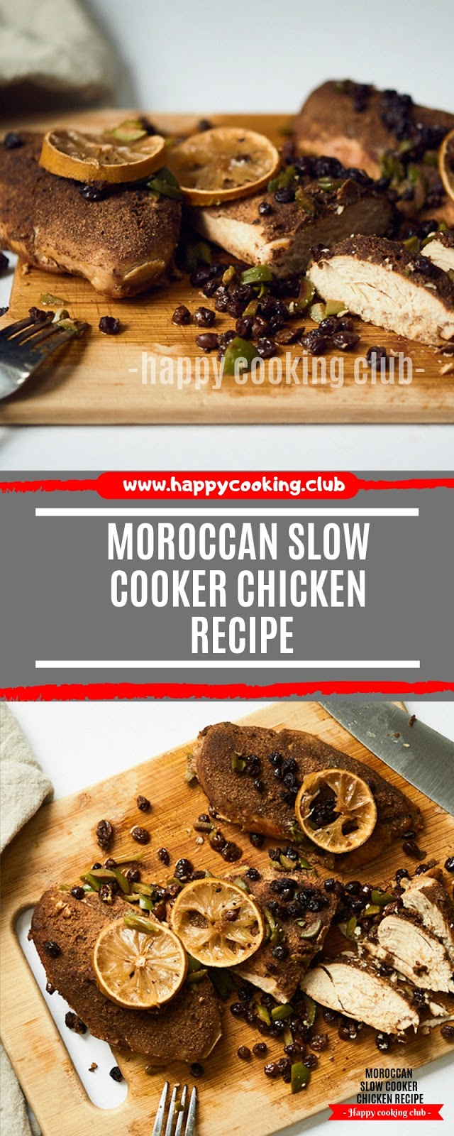 Moroccan Slow Cooker Chicken Recipe