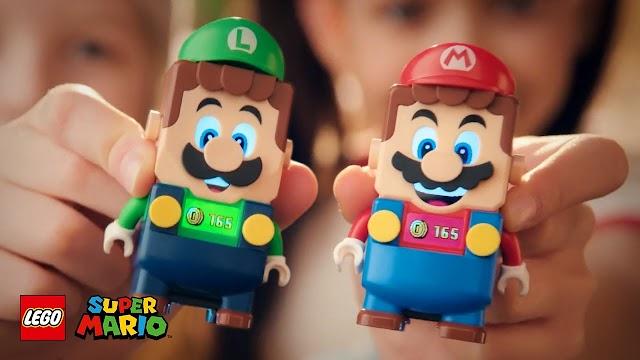 El Grupo LEGO permitirá conectar el universo de LEGO® Super Mario™ y LEGO® Luigi™