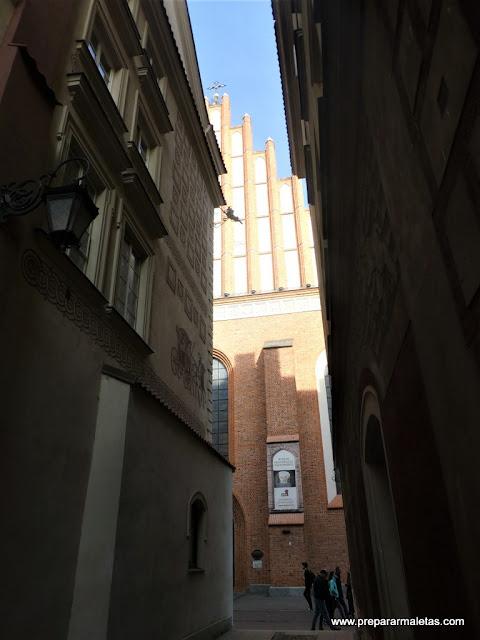 la diferente catedral de Varsovia