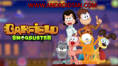 Download Garfield Smogbuster Mod Apk v1 (Unlimited Money) Android Terbaru 2017