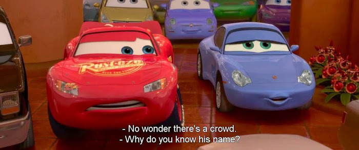 Screen Shot Of Hollywood Movie Cars 2 (2011) In Hindi English Full Movie Free Download And Watch Online at worldfree4u.com