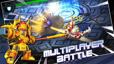 Download Game Herobots Build to Battle APK MOD