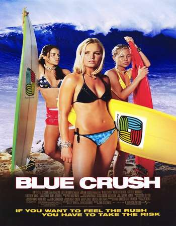 Poster of Blue Crush 2002 Dual Audio Eng-Hindi Movie 720p Free Download